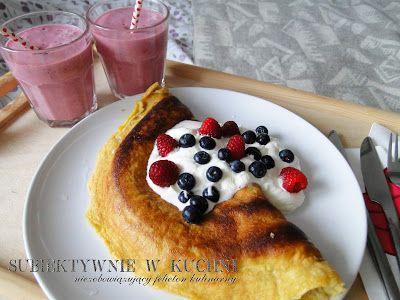 subiektywnie w kuchni: Słodkie śniadanie dla dwojga