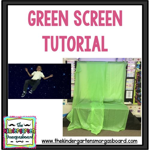 This post shows how to bring green screen technology into the classroom using some table covers and an app for your phone or ipad!