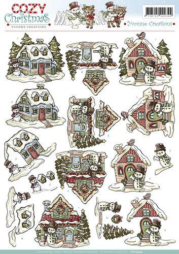 3d yvonne creations knipvellen kerst - Google Search