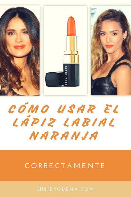 ¿Cómo usar el lápiz labial naranja correctamente? #consejos #belleza #lifestyle #labial