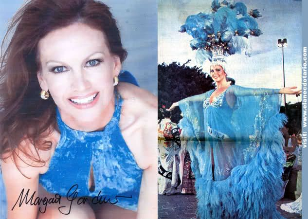 Margaret Gardiner was Miss South Africa in 1978 and became Miss Universe in 1978. She was South Africa's first Miss Universe.