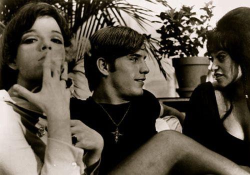 Jackie Curtis, Joe Dallesandro and Geri Miller in FLESH.