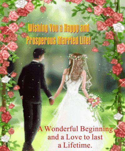 Free Online A Wonderful Wedding Wish Ecards On
