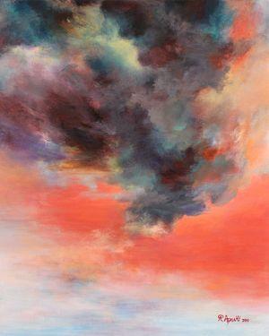 Passions, Today's Sky 5062 Rikka Ayasaki | Saatchi Online