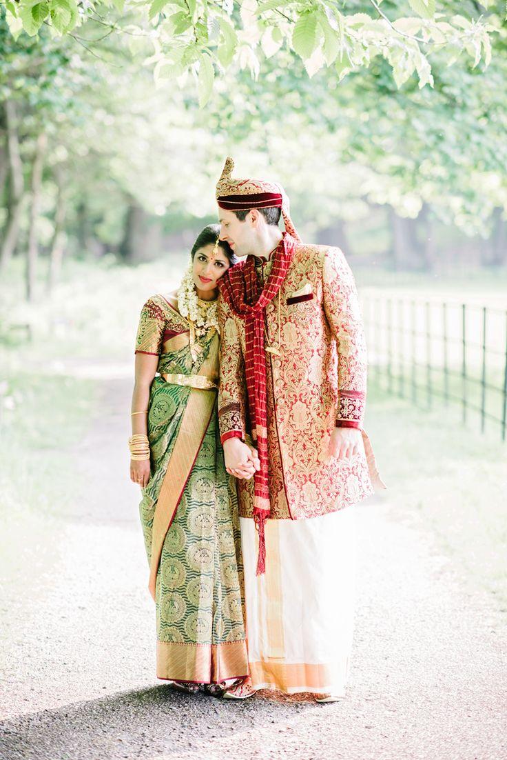 hindu weddings - photo by Dominique Bader http://ruffledblog.com/romantic-hindu-and-humanist-wedding-weekend