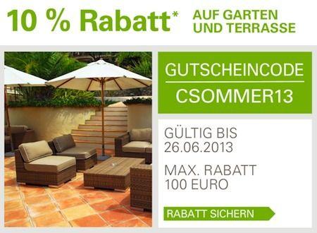 Ebay PayPal Gutschein – 10 % Rabatt auf Garten und Terrasse