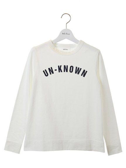 Mila Owen(ミラオーウェン)通販 |ロゴロングTシャツ(正面)