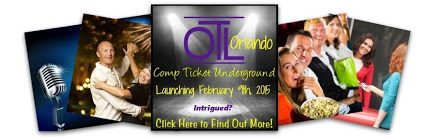 OTL Orlando launches February 9th but we're giving the first 500 people on our email list the opportunity to join for the LOWEST PRICE EVER - just $35 for an entire year PLUS a bonus month.       #OrlandoEntertainment   #LocalSeatFiller