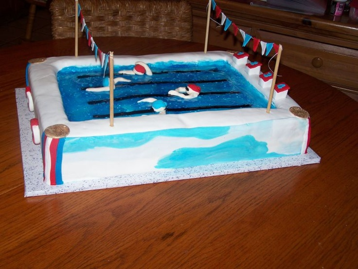 Swim cake: Swimmers Cakes, Muffins Cupcakes Cakedec, Racing Cakes, Swim Pools Cakes, Cakes Decor, Swim Cakes, Swimming Pool Cakes, Birthday Cakes, Team Cakes