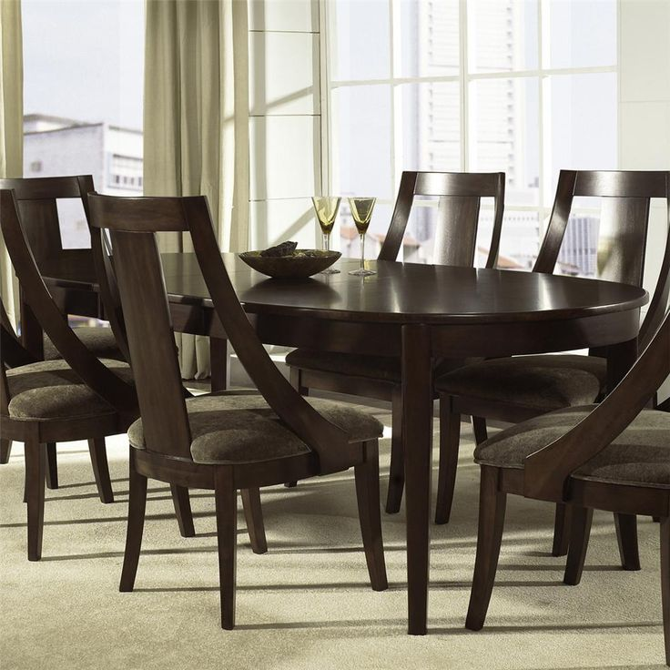 Review Cirque Oval Dining Table by Somerton New Design - Minimalist modern dinette sets