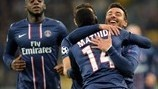 Ezequiel Lavezzi (Paris Saint-Germain FC)   Dynamo Kyiv 0-2 PSG. 21.11.12.