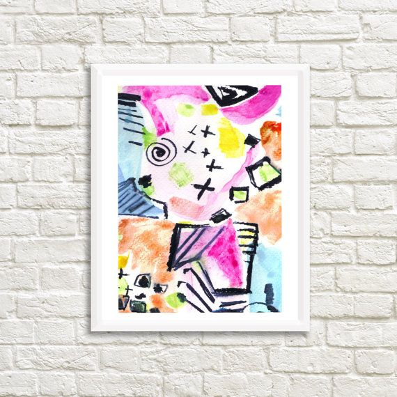 Colorful Abstract 30x 22 high resolution by LittleLotusFlowers