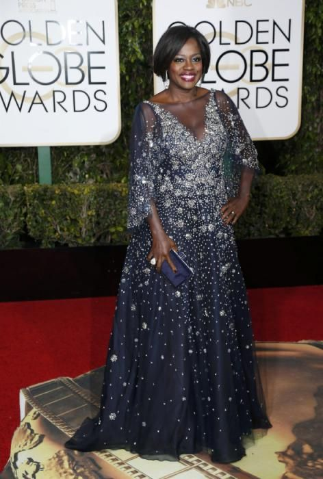 Actress Viola Davis arrives at the 73rd Golden Globe Awards in Beverly Hills 1/10/16