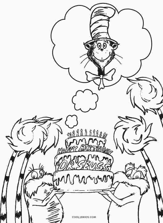 Doctor Seuss Coloring Pages Dr Seuss Coloring Pages Birthday