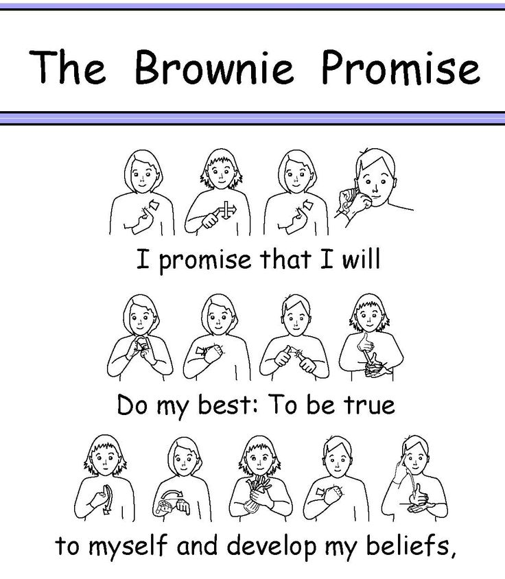 33 best Brownie Promise ideas images on Pinterest
