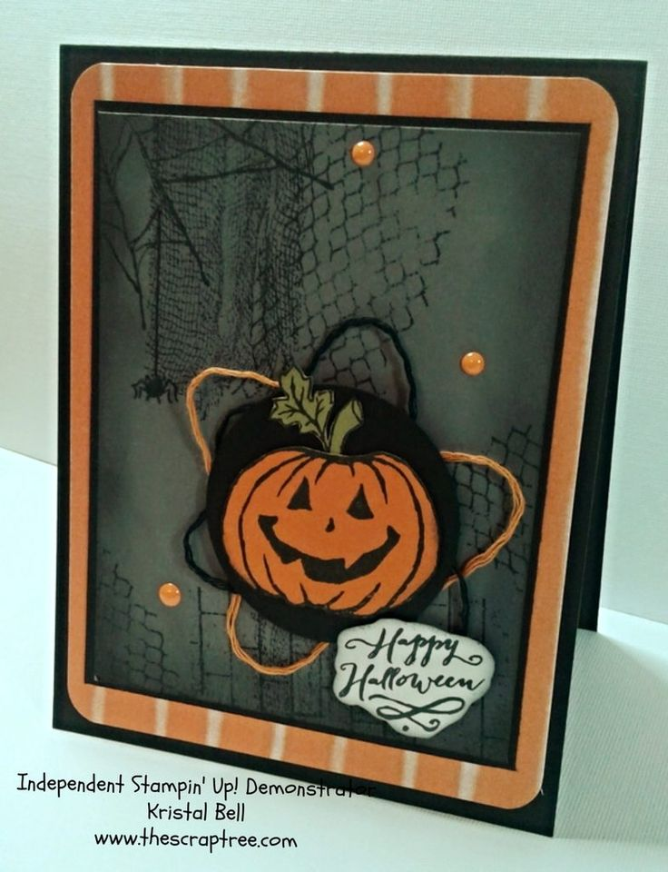 2016 stampin up holiday catalog ghoulish grunge and jar of haunts stamp set - Stampin Up Halloween Ideas
