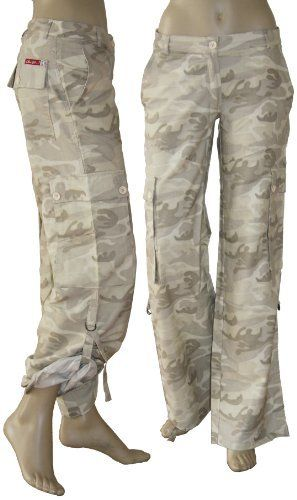 Hose military style damen