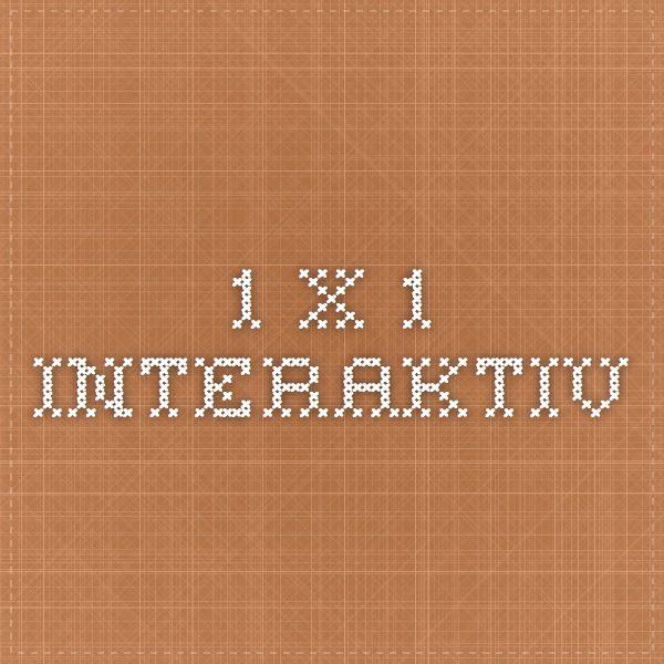 1 x 1 interaktiv