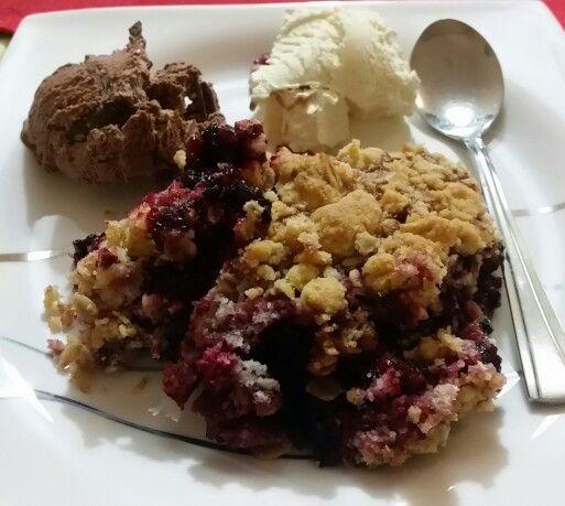 #Blueberrycrisps #homemade