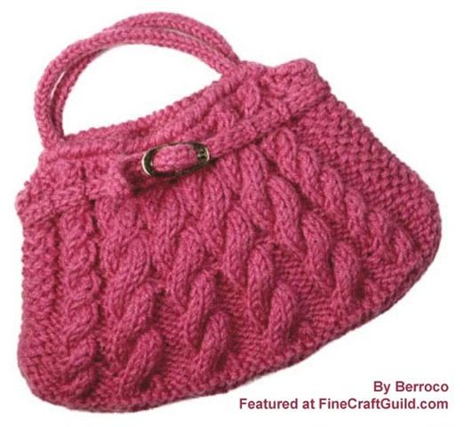 A knitted design but love the shape and could be easily adapted to crochet