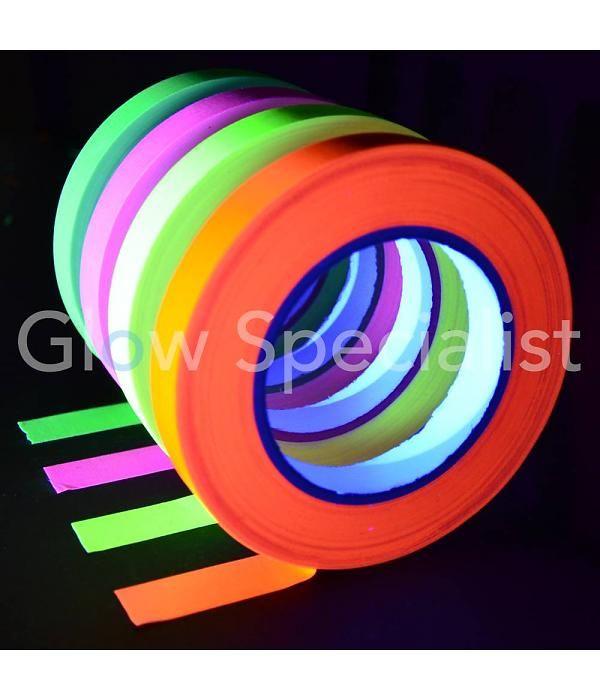De ideale blacklight decoratie. Lichtgevend bij UV licht.