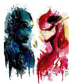 The Flash Vs Zoom - Visit to grab an amazing super hero shirt now on sale!