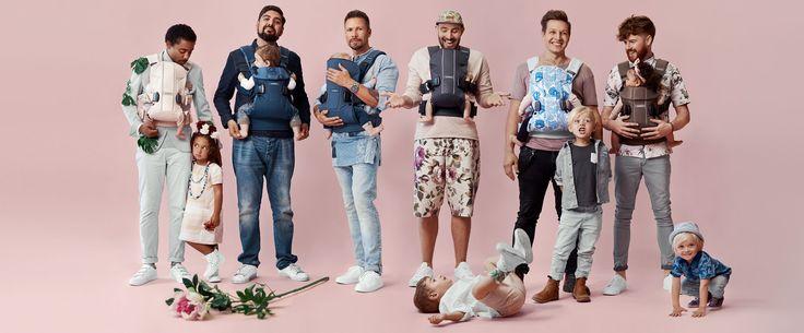 Весенняя коллекция рюкзаков-переносок BabyBjorn #dadstories – новости интернет-магазина Олант