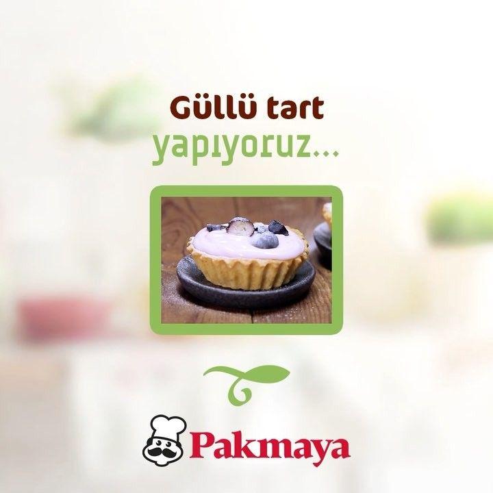 """122 Beğenme, 3 Yorum - Instagram'da Pakmaya (@mutfaginyildizi): """"İftar tatlınız henüz hazır değilse, gelin en pratiğinden Güllü Tart yapalım. 😋❤ #pakmaya #ramazan…"""""""