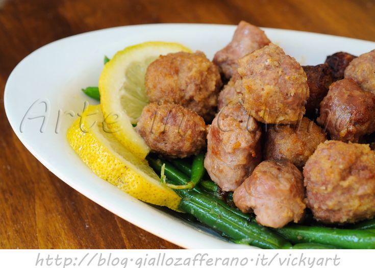 Salsicce e polpette al limone al forno vickyart arte in cucina