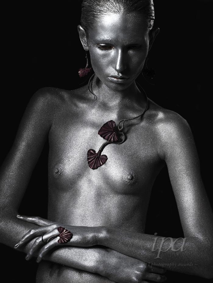 #woman #beauty #silver