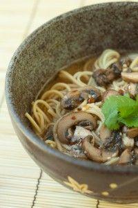 Japanese mushroom soup