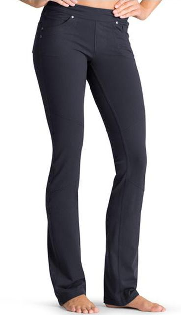 For alternatives to leggings with the same benefits and comfort, check out the Bettona collection by Athleta. They may various pant styles in leggings material that can be worn as regular pants, too!