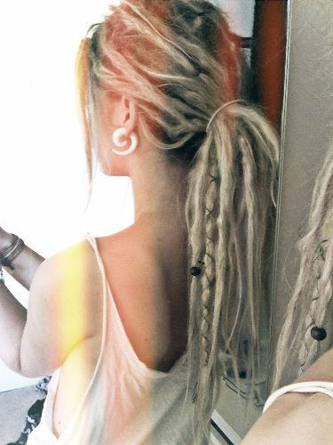 half dreads - Google Search                              …