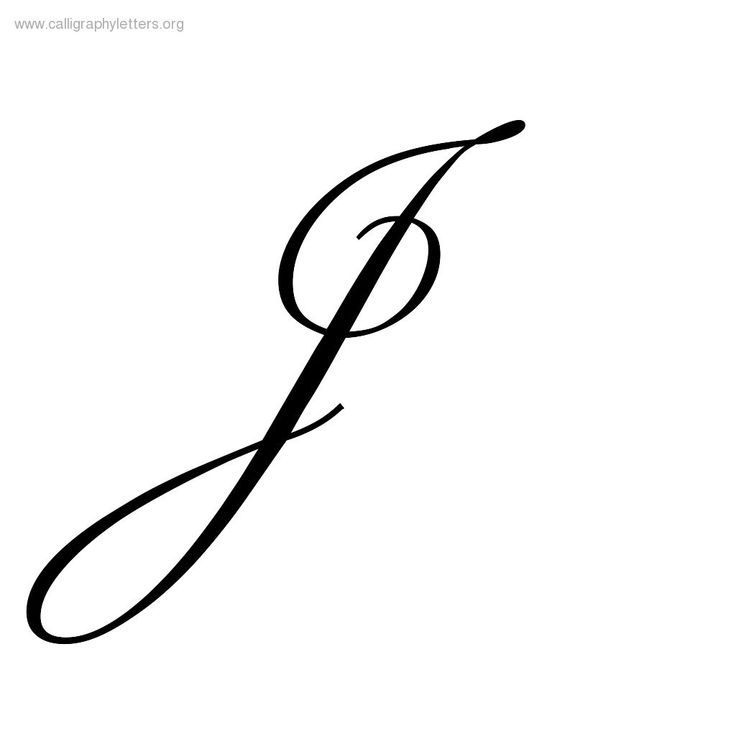 Gallery For > Fancy Letter J Tattoo