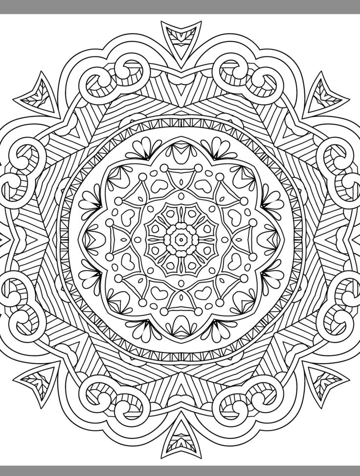 454 best images about Advanced Coloring PagesMandalas on