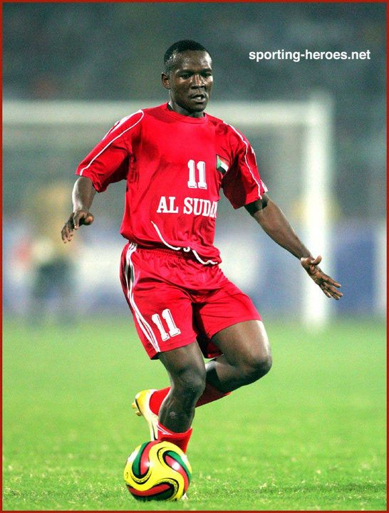 Alaeldin Babiker - Sudan - African Cup of Nations 2008