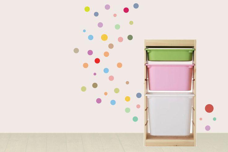 Duvar Stickerı - Renkli Daireler #duvarsticker #dekorasyon #dekoratif #çocukodası #wallsticker #sticker #kidsroom #roomdecoration #walldecoration #duvardekorasyonu