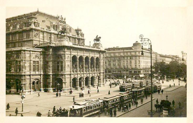 Вена — Старые фотографии