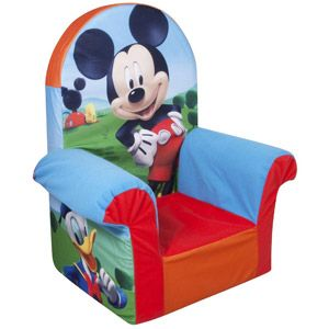 Mickey Mouse Chair! I've so gotta get this for karson's bday! He would love it!
