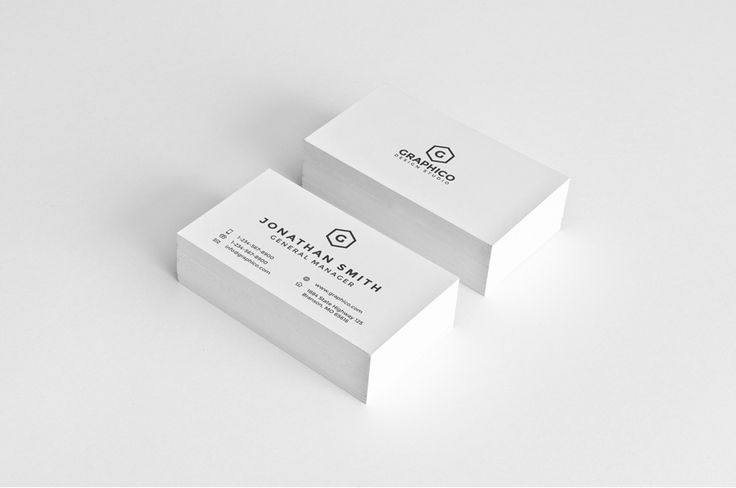Simple Business Card Bundle - 3 by nazdrag on @creativemarket