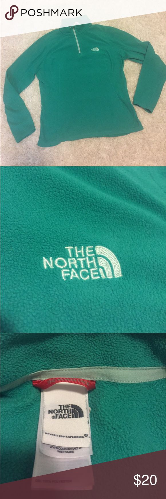 Women's TheNorth Face teal shirt Lightweight, excellent condition, women's medium The North Face Tops