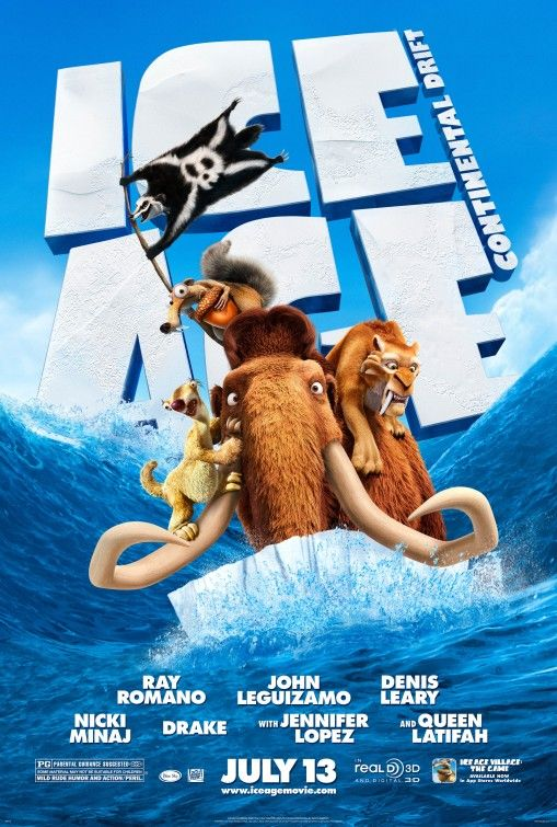 Ice Age: Continental Drift: Continental Drift, Sea Creatures, Age Continents, Continents Drift, Ice Age, Favorite Movie, Movie Review, Drift 2012, Animal Movie