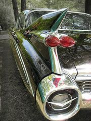 cars with fins: Automotive, American Cars, Classic Cars, Cars Boats Bikes Planes Etc, Dream Cars, 1959 Cadillac, Cadillac Ranch, Fantastic Cars, Cadillac Motel