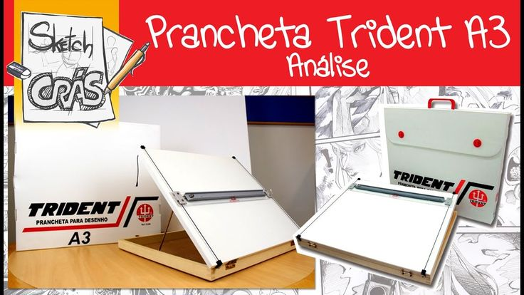 Prancheta A3 para DESENHO TRIDENT, análise - Sketch Crás
