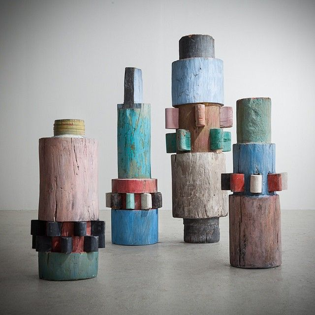 Totems by Roberto Burle Marx for R and Company via joeinstakramm
