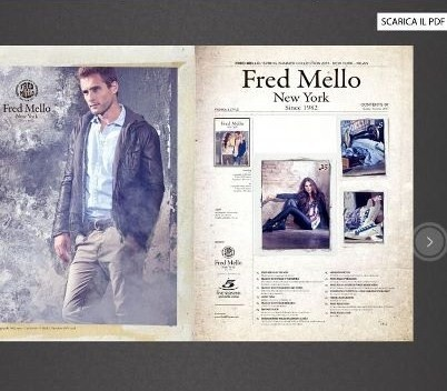Fred Mello new website www.fredmello.it