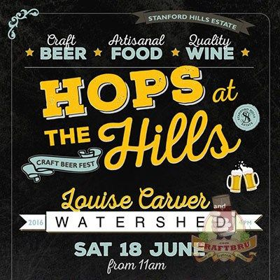 Book your tickets for Hops at the Hills #CraftBeer Fest this 18 June and experience some of #SouthAfrica's top craft breweries & entertainment, culminating in a concert by top musical talent in the form of Louise Carver and Watershed. Standford Hills Estate, just outside the seaside town of Hermanus, promises a family day out filled with craft beer, wine, fine food and musical entertainment. Last year, in spite of the weather, tickets sold out. Grab yours now.