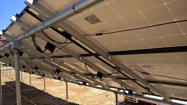 Electrical connections under the Solar panels - Vacaville California HVAC Solano Napa Fairfield Benicia Vallejo Suisun Green Energy