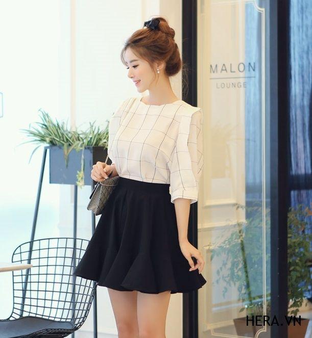 Chân váy chữ A 2016 cực xinh yêu cùng nàng dạo phố chan vay chu a 2016 cuc xinh yeu cung nang dao pho 9
