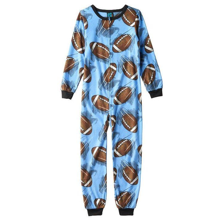 Boys 420 Jelli Fish Fleece Pajamas Fleece pajamas